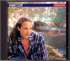 Helene GRIMAUD: CHOPIN Ballade No.1 SCHUMANN Piano Sonata 1 LISZT CD DENON JAPAN