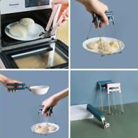 Bowl Clip Kitchen Pan Pot Anti-Hot Holder Clamp Handheld Hot Dish Plate Gripper