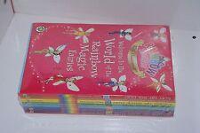 Rainbow Magic 10th Anniversary Colours 1-7 Green Fairies Ref 850 Defect