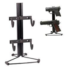 Handgun Table Top Rack Hold Up Displays 2-Pistol Tree Hd66-P-C Usa Made
