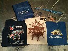 E3 2016 PlayStation Last Guardian Resident Evil RIGS Shirt M Horizon Zero Dawn