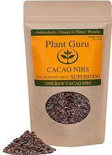 Raw Cacao / Cocoa Nibs 100% Pure Kosher 16oz/1 Pound Arriba Nacional Bean