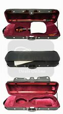 New Oblong Wood Full Size 4/4 Violin Hard Case ,Free Shipping