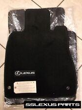 Lexus LS430 (2004-2006) 4pc OEM Genuine CARPET FLOOR MATS (Black) PT206-50060-20
