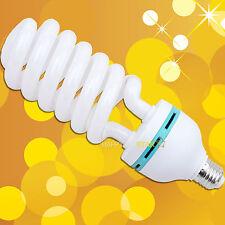 E27 E26 5500K 5600K Photo Video White 110V 150W Day Light Lamp Bulb Studio CFL