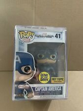Captain America Funko Pop Vinyl Hot Topic Exclusive The Winter Soldier GITD #41