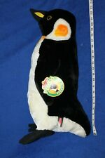 "Melisssa & Doug Plush Penguin #2122 stands 24"" tall life size with tags"