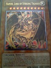 Yu-Gi-Oh TCG Hamon, Lord of Striking Thunder SOI-EN002 Ultimate Rare NM/MNT NP
