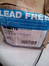 "Watts LF3001A Dielectric Union 3/4"" FEMALE PIPE x COPPER SOLDER Lead Free NO-TAX"