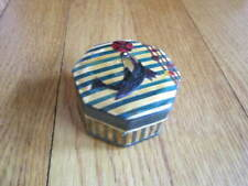 Collectible Seal Box Chinese Wheat Grass Balance Ball Small Trinket Container