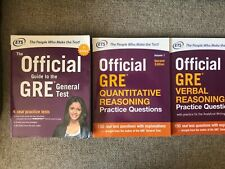 GRE Super Power Pack Test Prep Books by Educational Testing Service (ETS)