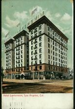 Alte Postkarte:Hotel Lankershim ,Los Angeles,Kalifornien,gel.1908,Briefmarke