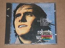 ROBERTO VECCHIONI - L'UOMO CHE SI GIOCA IL CIELO A DADI - CD COME NUOVO (MINT)