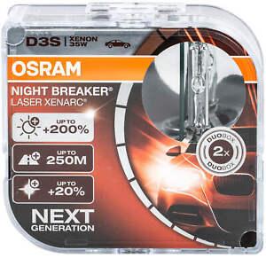 2X Xenon D3s Brenner Lampe Osram Scheinwerfer Xenarc Birnen Night Breaker Las AA