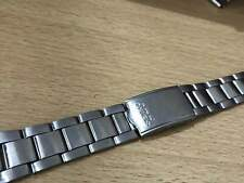 VINTAGE SEIKO 17MM STAINLESS STEEL GENTS WATCH, USED, STRAP (6)