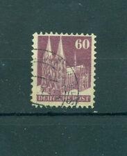 Gestempelte Deutsche Briefmarken der alliierten Besatzung aus Einzelmarke