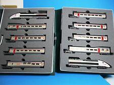 KATO K10-1325 SBB / SNCF Zugset TGV Lyria 10-teilig,Analog,NEU,OVP,NEM,M 1:160,