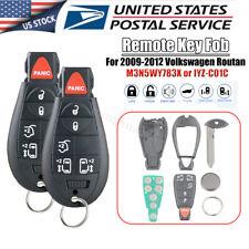 2 For 2009 2010 2011 2012 Volkswagen Routan Remote Key Fob M3N5WY783X IYZ-C01C