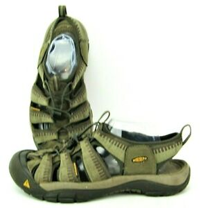 Keen Newport Men's Size 11 Olive Green Sport Trail Hiking Water Sandals 110230