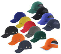 TITUS® BUMP CAP SAFETY HARD HAT SCALP HEAD PROTECTION MECHANIC BASEBALL VENTED