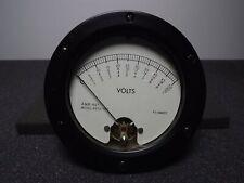 A&M Instruments 4652-017 Round Panel Mount Meter Multimeter Gauge Vintage