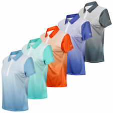 Short Sleeve Polo Shirts for Women with Buttons