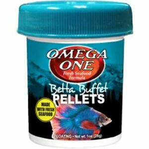 Omega One | Betta Buffet Pellets