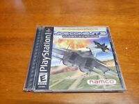 Ace Combat 3: Electrosphere PS1 (PlayStation 1) Complete with Registration Card