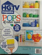 HGTV Magazine May 2017 Pops of Color Issue Kitchen Makeover FREE SHIPPING sb