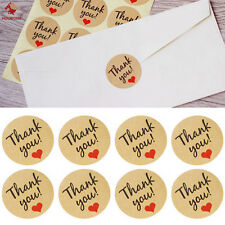 60Pcs Craft Gift Box Packaging Sticker Seal 'THANK YOU' Sticker Label DIY Gift