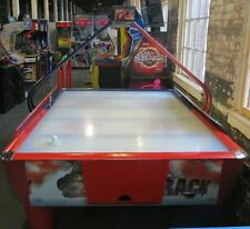 FAST TRAK WIDE COIN-OPERATED AIR HOCKEY TABLE SOLID WORKS Shipping Available