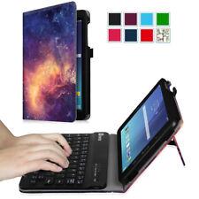 For Samsung Galaxy Tab E 8.0'' Folio Case Cover Detachable Bluetooth Keyboard