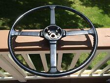"Vintage Jaguar Steering Wheel 18"" cast alloy Early XK140"