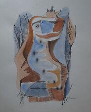 L. ZEILINGER  (1897/1990)   - COMPOSITION LYRIQUE 1970  - Signé