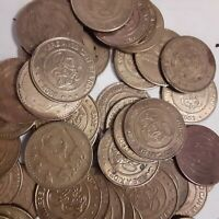 Lot of 100 CHUCK E CHEESE PIZZA Tokens game room arcade