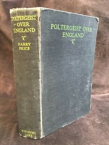 Supernatural: Poltergeist Over England by Harry Price (1945 1st Edition)