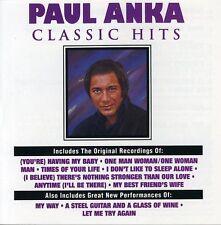 Paul Anka - Classic Hits [New CD] Manufactured On Demand