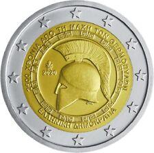 GRIEKENLAND I 2020- 2 euro 2500 jaar slag bij Thermopylae/Bataille deThermopylae
