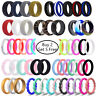 Medical Grade Silicone Wedding Ring Men Women Flexible Sport Rubber Band Gift
