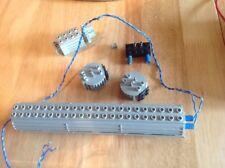 LEGO 4.5 V BATTERIA Box, motore, microinterruttore con 2 Interruttori,