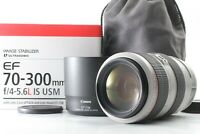 🔴FedEx✈︎【N.Mint In Box w/Hood case】Canon EF 70-300mm f4-5.6 L IS USM from Japan