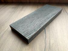 Bog oak (morta, wood) plank, blank, slab, board 24mm*104mm*260mm from 2840 years