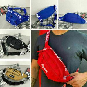 USA Supreme Fanny Pack Unisex Waist Bag Crossbody Shoulder SS18 Chest Bag Sport