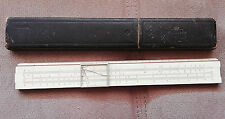 WICHMANN 1873  Slide rule  Calculator Ruler Logarithmic Line with original case