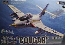 1/48 Grumman F9F-8 / 8P Cougar model Kit by Kitty Hawk Models