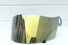 Gold Mirror Visor Shield Fits Suomy Extreme Excel Spec 1R Apex