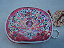 m PEACOCK COELACANTH Carrying Case coin purse POUCH digital camera keychain bag