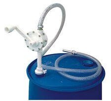 Piusi Rotary Adblue/Urea hand pump, hose, and spout for barrels and drums