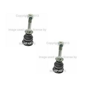 For BMW E30 Set of 2 Front Ball Joints for Control Arm Inner MOOG 09 3010 102