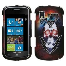 Lightning Skull Hard Case Cover for Samsung Focus i917